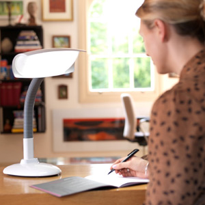 Lumie Desk Lamp SAD Light Therapy