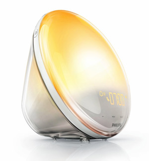 Philips Wake-up Light HF3520/01 Coloured Sunrise Simulation