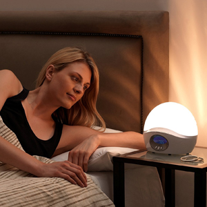 Lumie Bodyclock ACTIVE 250 Wake-Up Light Alarm Clock with Extra Audio Options